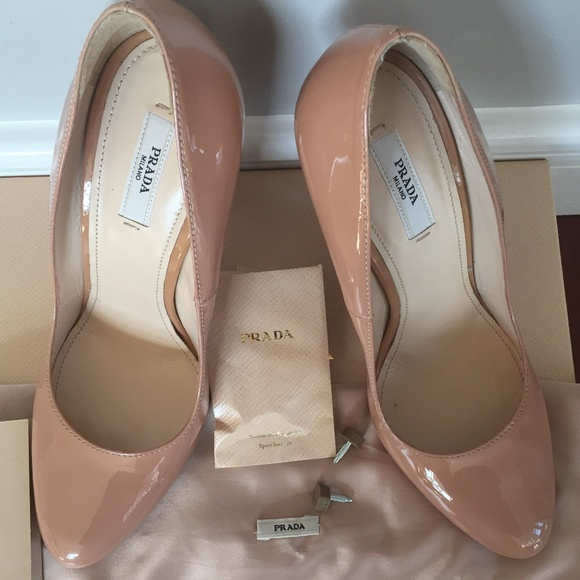 0baffa8191 Prada Shoes | New Patent Leather Semi Pointed Toe Pumps | Poshmark